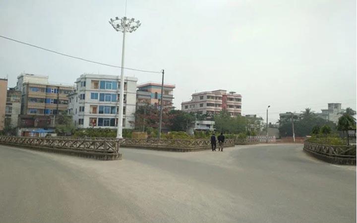 রাজশাহী মহানগরে 'সর্বাত্মক লকডাউন'