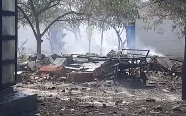 ভারতে আতশবাজি কারখানায় বিস্ফোরণে ১২ জন নিহত