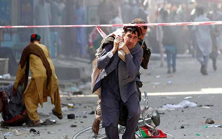 আফগানিস্থানে প্রেসিডেন্টের জনসভায়  বোমা হামলা : নিহত ২৪