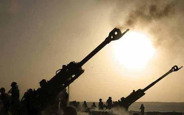 কাশ্মির সীমান্তে পাক-ভারত যুদ্ধ